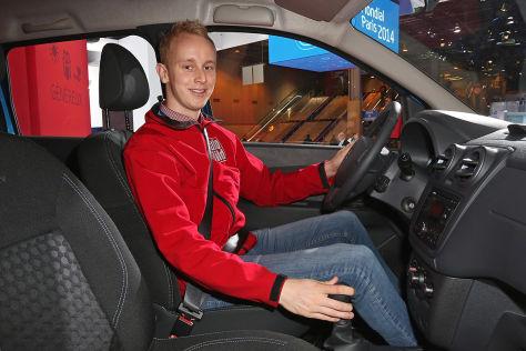 So Sitzt Es Sich Im Dacia Lodgy Stepway Autobild De