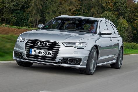 audi a6 facelift (2014): fahrbericht - autobild.de