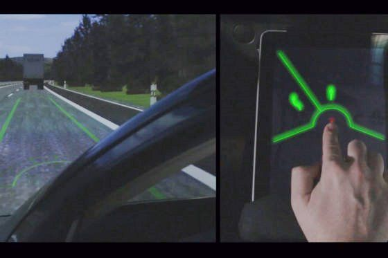 Fahren per Fingerzeig