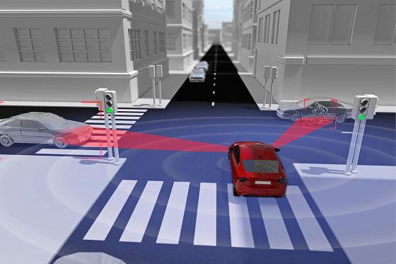 Volvo 360 Grad-Rundumsicht mit Sicherheitssystem Vision 2020