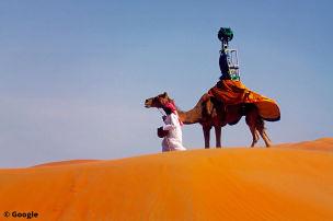 Google steigt aufs Kamel