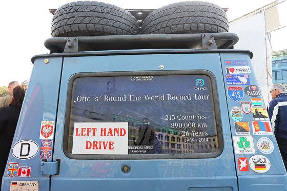 Weltreise über 900.000 Kilometer