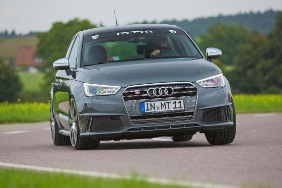 Audi MTM S1 Sportback grau Frontansicht