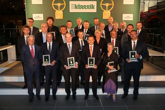 Hier alle Preisträger des Goldenen Klassik-Lenkrades 2014!