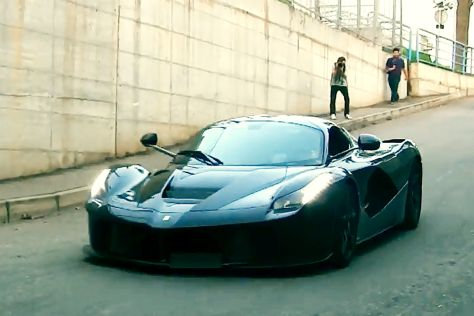 Ferrari LaFerrari: Elektroantrieb