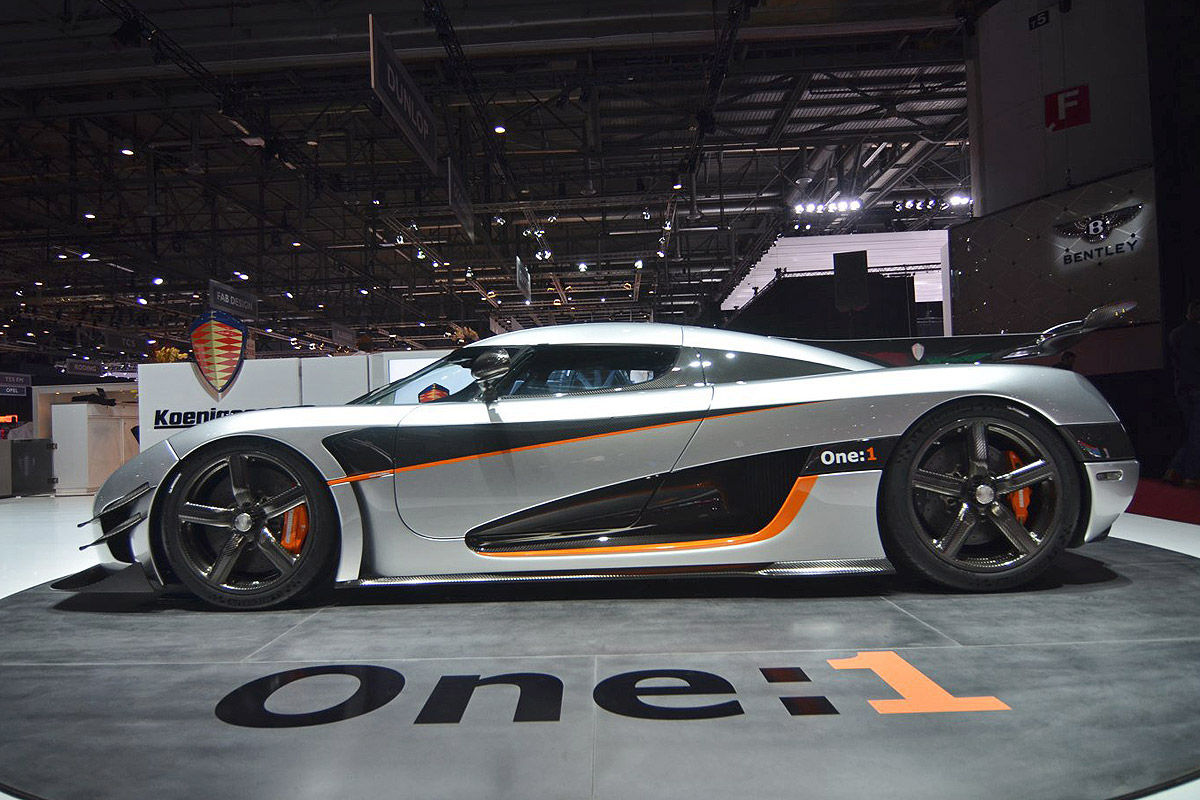 Koenigsegg Agera One:1 Messe