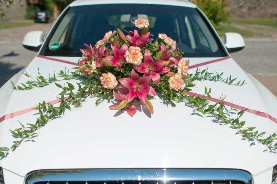 Hochzeits Autoschmuck Autobild De