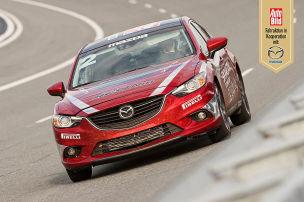 Mazda6 Weltrekordversuch