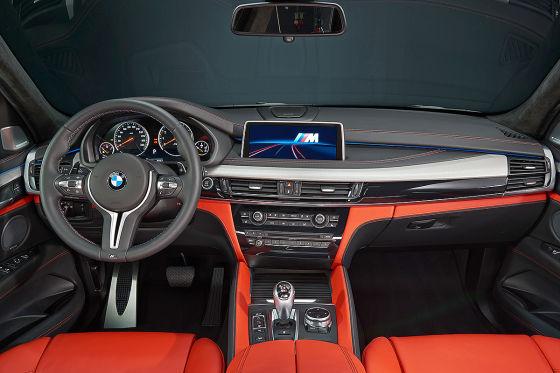 So sitzt es sich im neuen BMW X5 M