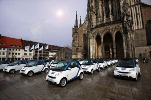Aus f�r Car2Go in Ulm