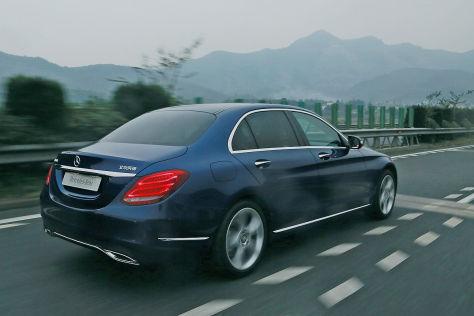 Mercedes C-Klasse Langversion: Fahrbericht - autobild.de