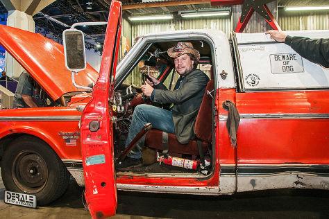 Oklahoma Farmtruck Sema 2014 Sitzprobe Autobild De