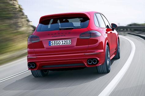 Porsche Cayenne Gts Facelift Vorstellung Autobild De