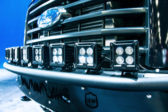 Ford F-150 Deegan 38 Concept: Front mit LEDs
