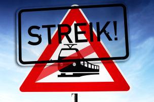 Trotz Bahnstreiks zum Ziel