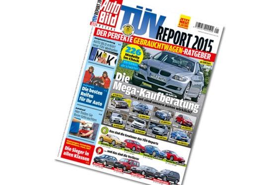 Titel TÜV-Report  2015