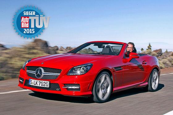 TÜV Report 2015 - Mercedes SLK