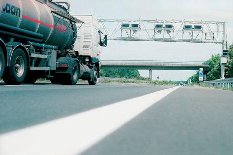 Toll Collect Kontrollbrücke