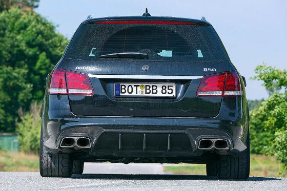 Brabus E 850 T schwarz Frontansicht
