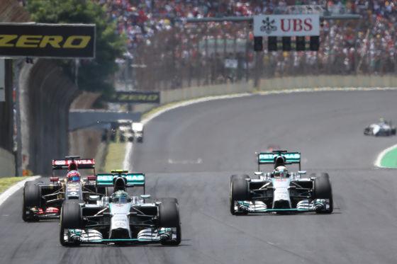 Rosberg & Hamilton