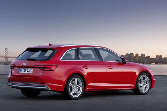 Audi A4 Teaser