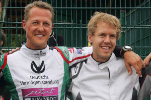 Vettel h�lt Laudatio in Berlin