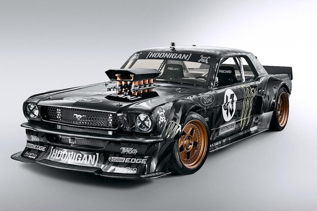 Ken Block´s Ford Mustang   Gymkhana seven   !!!Sperrfrist!!!
