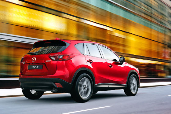 Mazda CX-5 2015 Facelift Heck