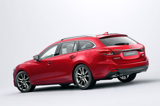 Mazda6 Facelift Frontansicht