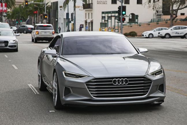 Video Audi A9 Fahrbericht Autobild De