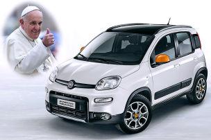 Der Papst verlost 'nen Panda