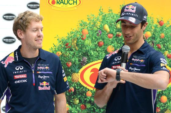 Vettel & Ricciardo