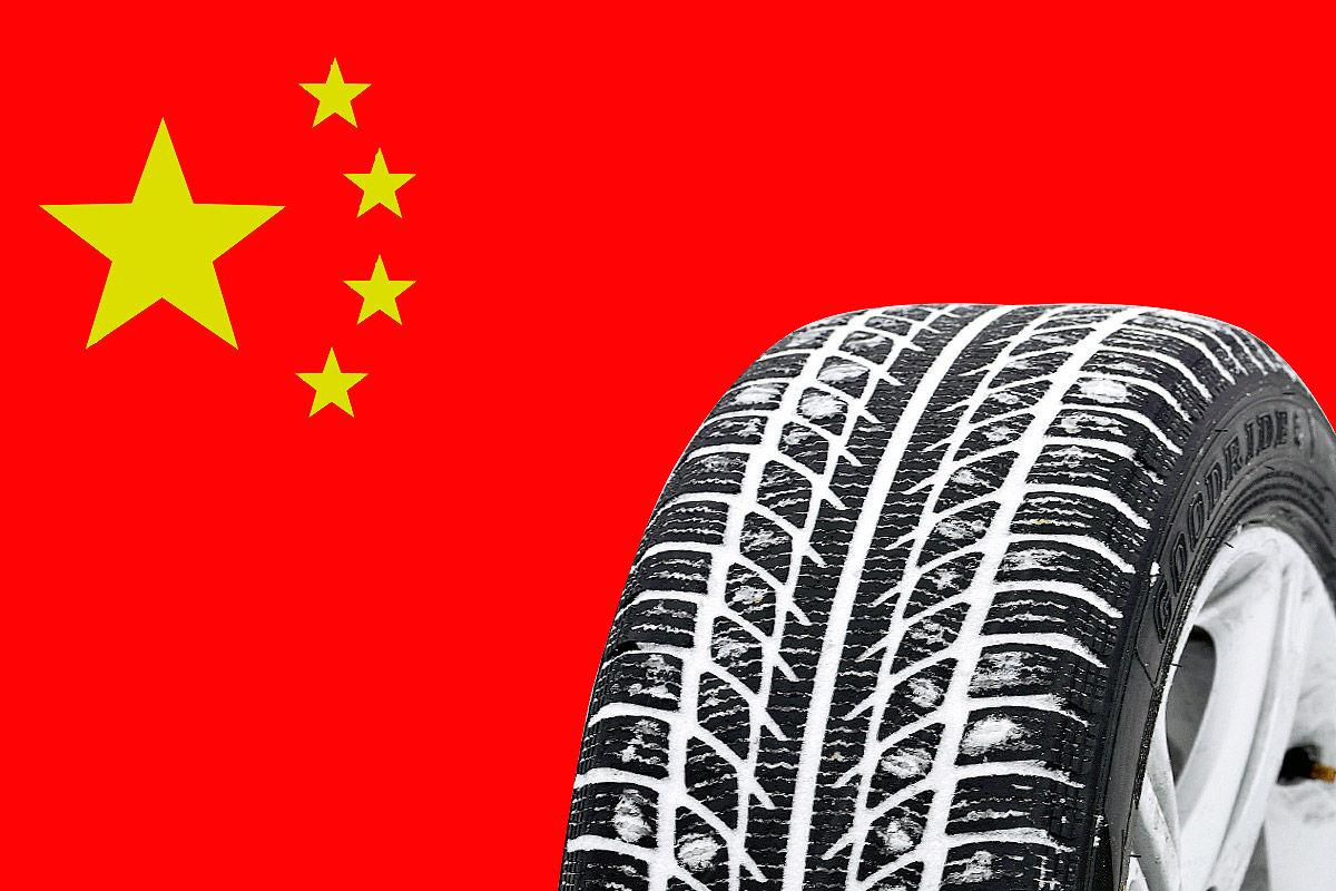 Reifen aus China
