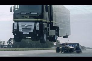 Kommt ein Truck geflogen