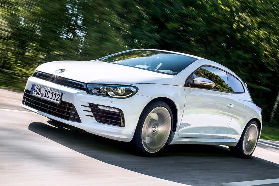 VW Scirocco R weiß Frontansicht