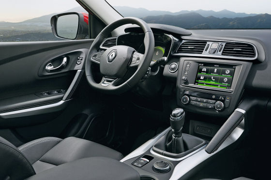 Renault Kadjar Cockpit