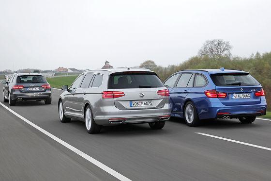 Audi A4 BMW 3er VW Passat