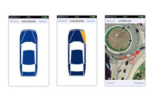 Unfall-App statt Hotline
