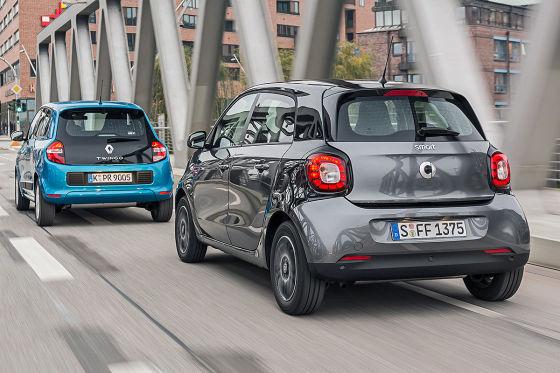 Renault Twingo Smart forfour