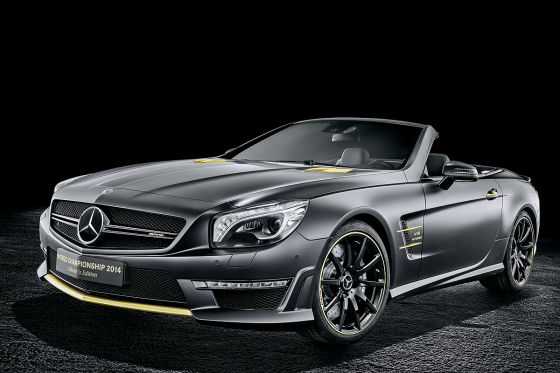 Mercedes SL 63 AMG Collector's Edition