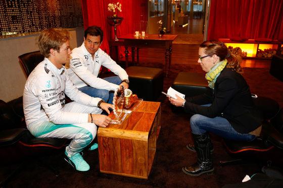 Rosberg und Wolff