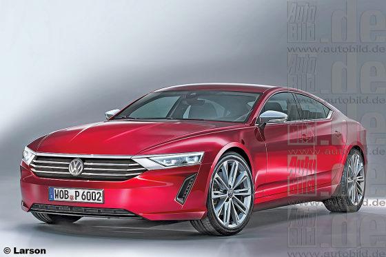 VW Edel-Modell Illustration