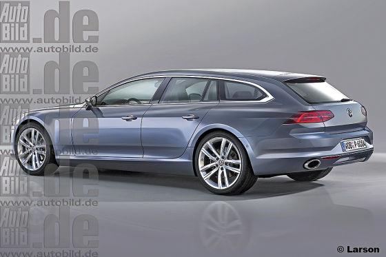 VW Edel-Modell Variant Illustration