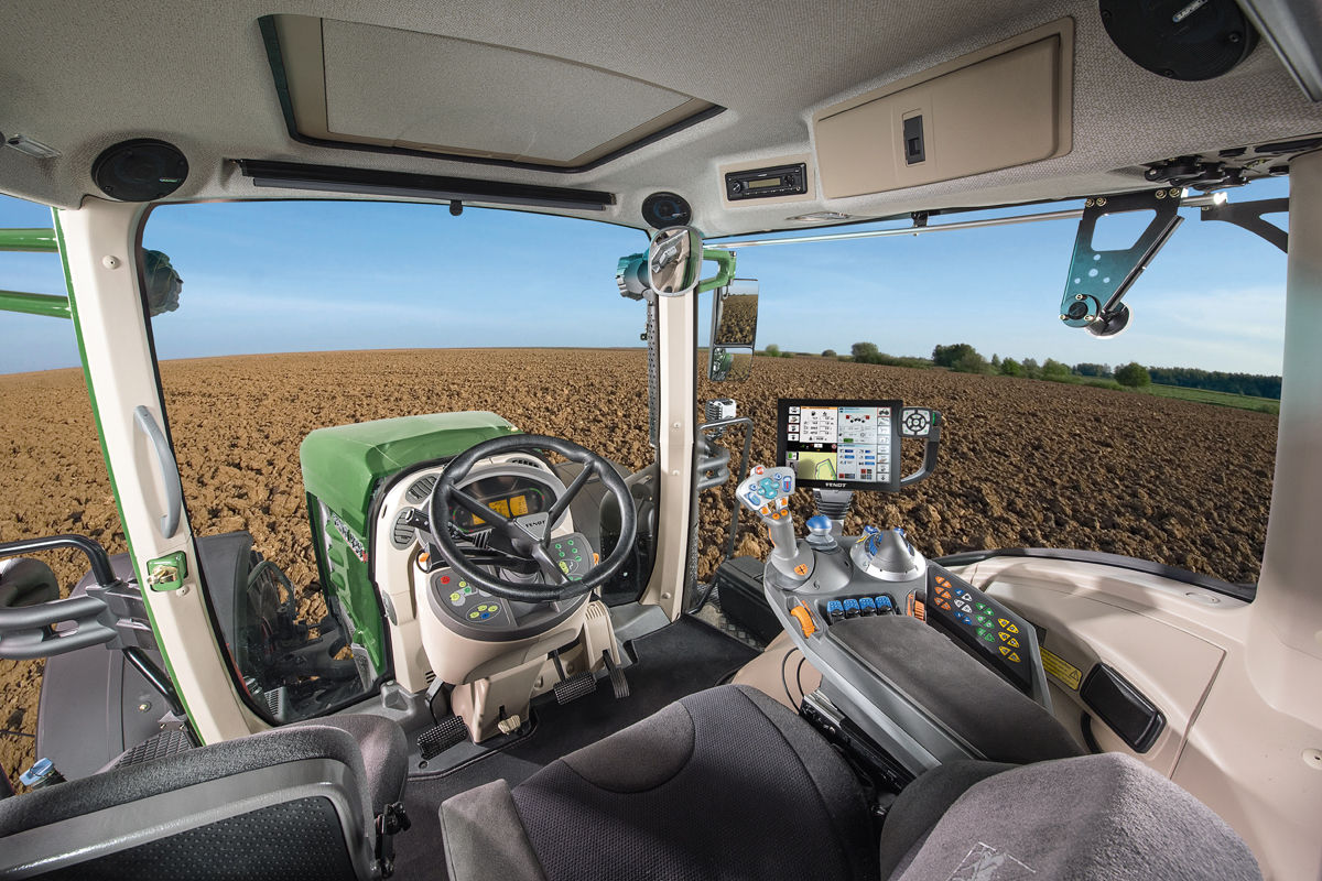Fendt 939 Vario Cockpit
