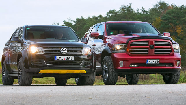 Video Dodge Ram Vs Vw Amarok 2014 Autobild De