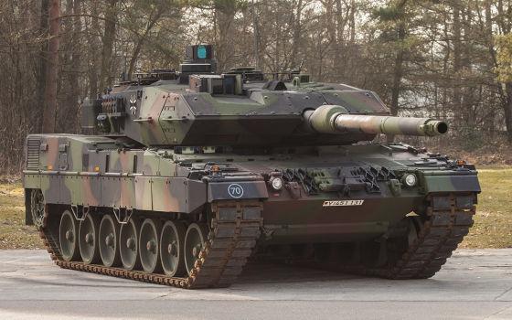 Neuer Kampfpanzer Leopard 2 A7