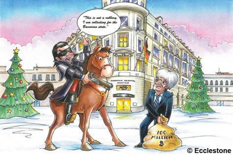 Ecclestone verschickt Weihnachtskarte