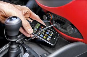 Finger weg vom Handy
