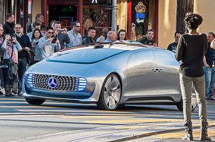 Fahrt in die Zukunft