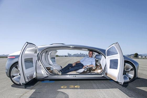 Mercedes F015 Concept